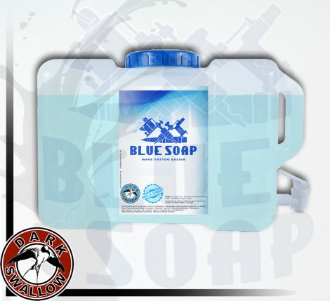 BLUE SOAP  Mix and storage smoother