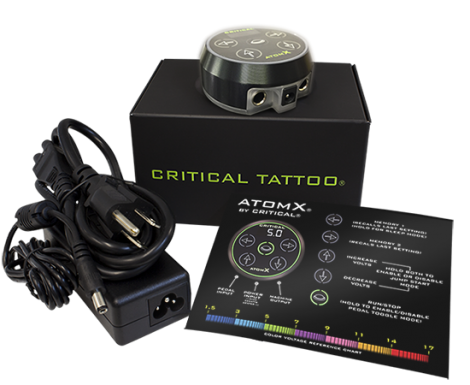 Critical ATOM X Power Supply - Black