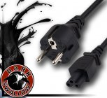 2 Pin Plug - Euro Power Lead 2m Long
